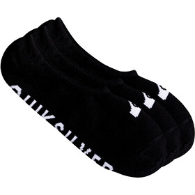 Quiksilver Liner - Chaussettes Homme - 3 Pack noir